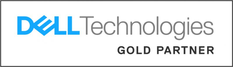 Dell Technologies gold partner badge