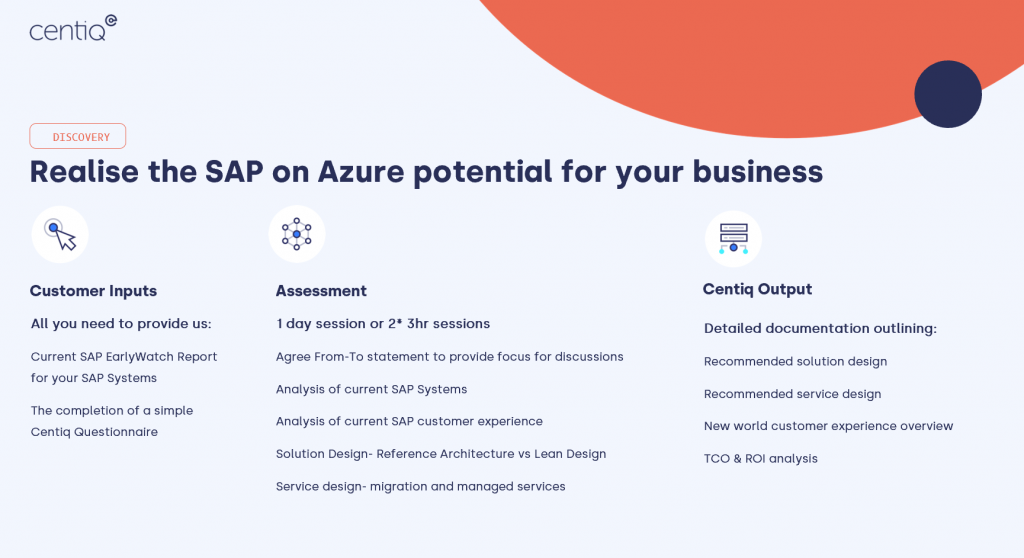 SAP on Azure discovery assessment details