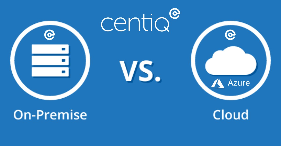 centiq on-prem vs cloud