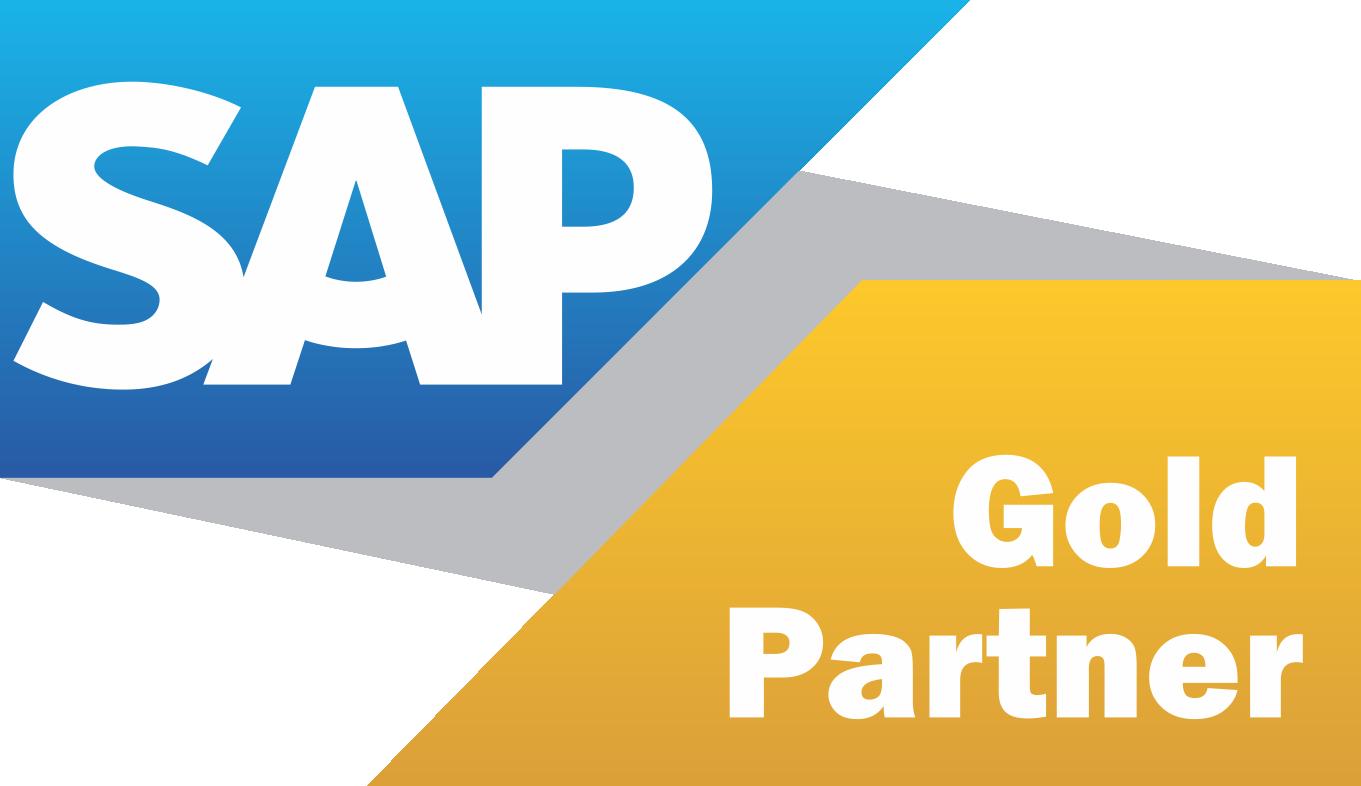 SAP gold partner badge