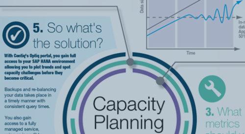 SAP HANA Capacity Planning Infographic