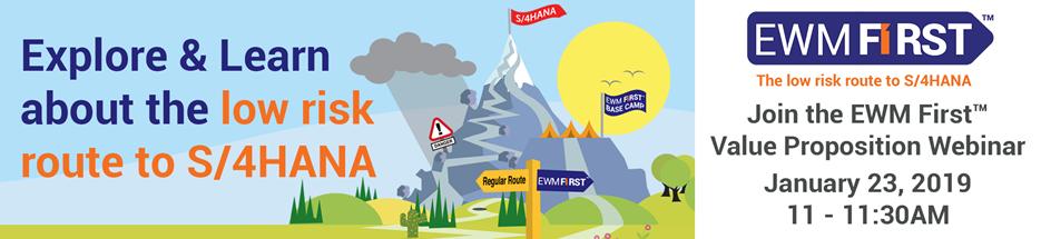 Webinar: EWMFirst™ Value Proposition