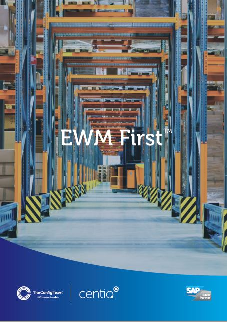 SAP EWM First™ - The low risk route to S/4HANA