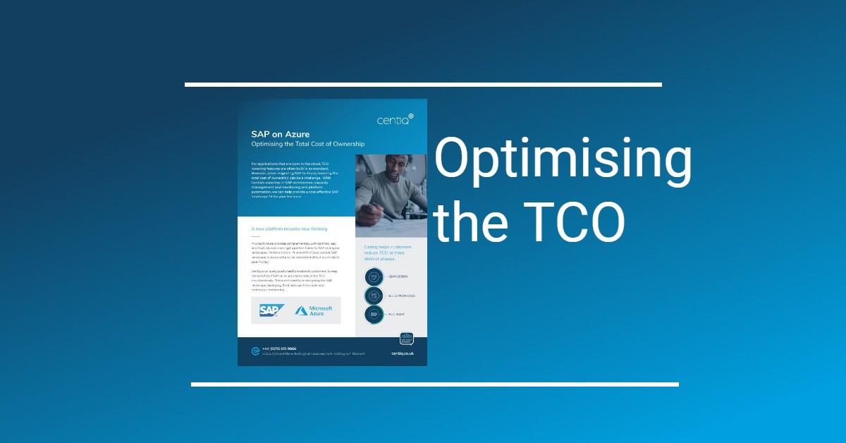 SAP on Azure TCO