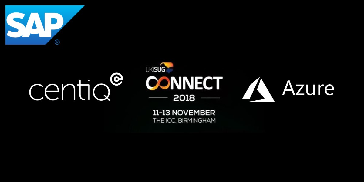 UKISUG Connect 2018 - Centiq will see you there!